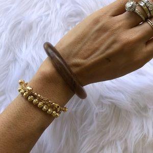 Jewelry - Brand new all wood bangle